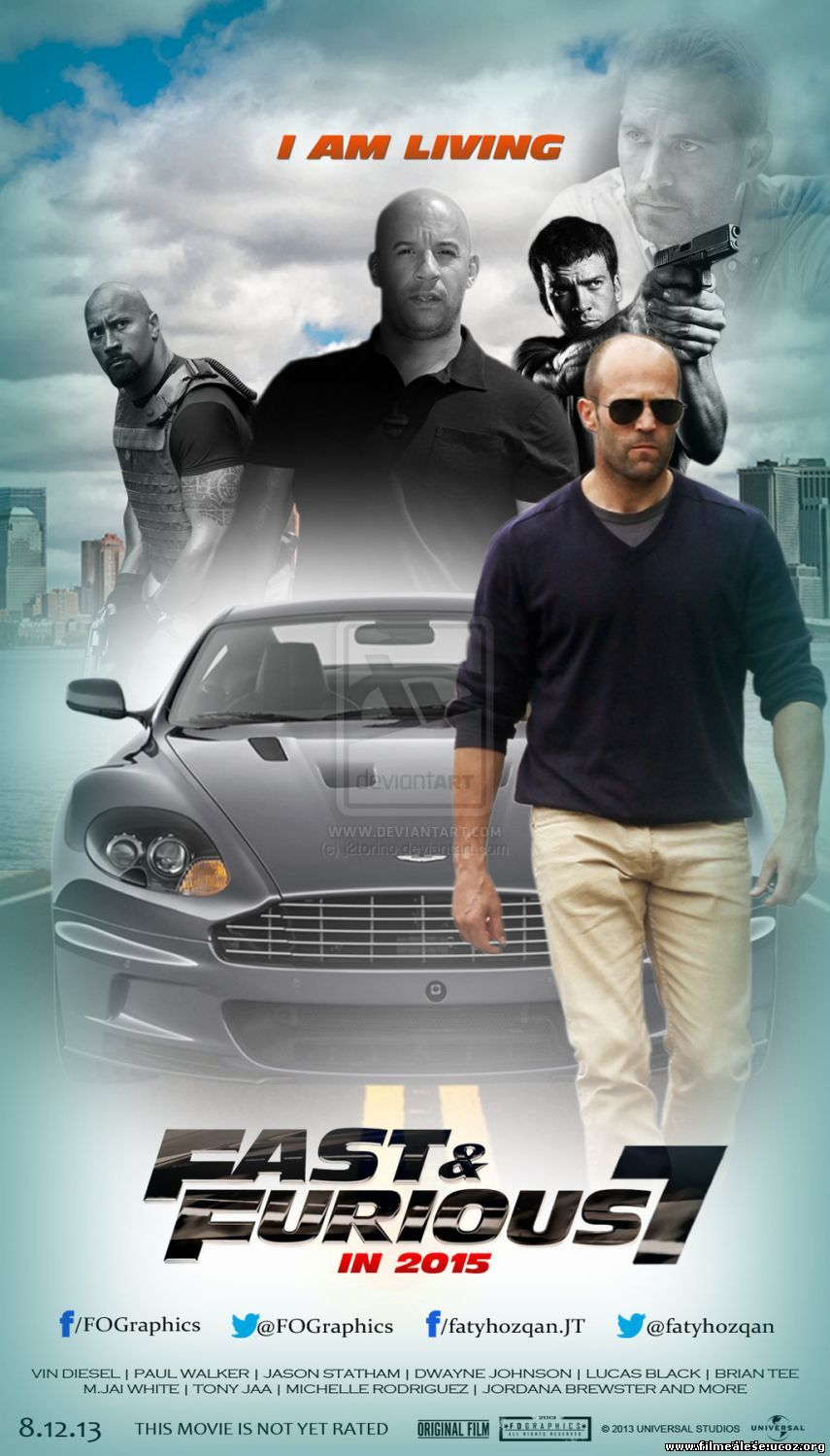 Poster Fast and Furious 7 (2015)